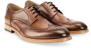 Gordon Rush Men's Percy Burnished Leather Dress Shoes