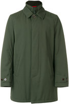 Fay short zipped coat - men - Polyamide/Polyester/Polyurethane/Virgin Wool - S