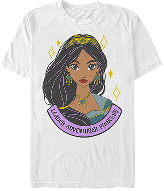 Fifth Sun Tee Shirts WHITE - Aladdin White 'Leader Adventurer Princess' Tee - Adult