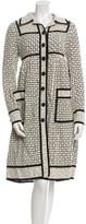 Anna Sui Embroidered Long Sleeve Jacket