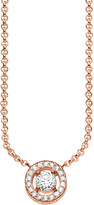 Thomas Sabo Light of Luna 18ct rose gold-plated sterling silver necklace