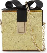 Aldo Apanthuga glitter box shoulder bag