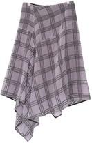 By Malene Birger Purple Cotton Skirt for Women