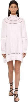 Etoile Isabel Marant Adenia Linen Mini Dress