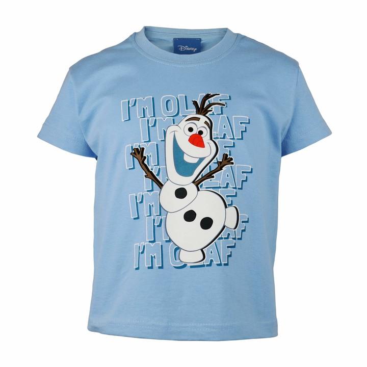 Disney Frozen T-shirts Olaf Design Kids Licensed T-Shirts Âges 3-10 ans