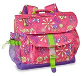 Bixbee Girl's 'Large Butterfly Garden' Backpack - Pink