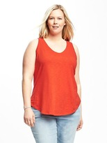 Old Navy Relaxed Plus-Size EveryWear Racerback Tank