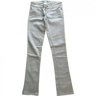 Barbara Bui Silver Cotton - elasthane Jeans for Women
