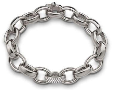 Monica Rich Kosann 18k White Gold Marilyn Link Bracelet