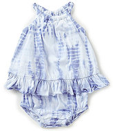 Ralph Lauren Baby Girls 3-24 Months Ruffled Tie-Dye Romper