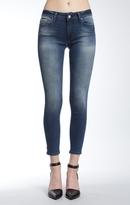 Mavi Jeans Adriana Ankle Super Skinny In Forest Indigo Tribe
