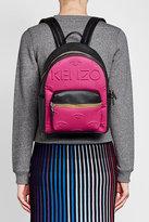 Kenzo Neoprene Backpack with Leather