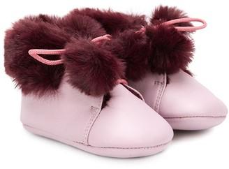 Pépé Fur Lining Crib Shoes