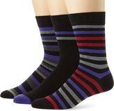 Ben Sherman Men's 3 Pack Winston Pattern Socks