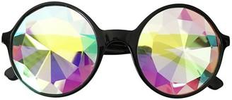 Keerads Glasses KEERADS Kaleidoscope Lens Sunglasses Holiday Party Glasses(Black)