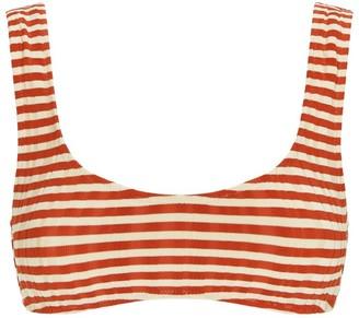 Solid & Striped Elle Stripe Bikini Top