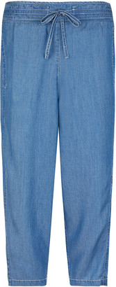 Under Armour Cropped Trousers in LENZING TENCEL Denim Blue