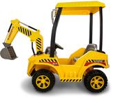 Front-Hoe Construction Loader Ride-On