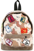 Palm Angels camouflage backpack - men - Cotton/Suede - One Size