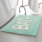 Asstd National Brand Creative Home Word Cotton 21x34 Bath Rug