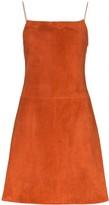 Rosetta Getty flared mini dress
