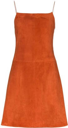Rosetta Getty Flared Mini Dress