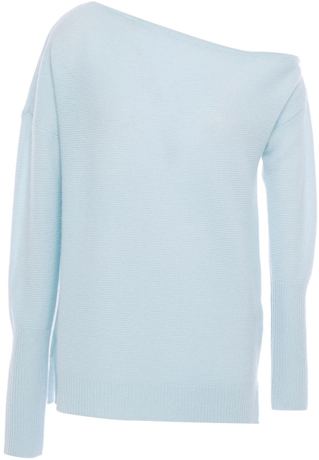 Cache Off the shoulder Cashmere Sweater