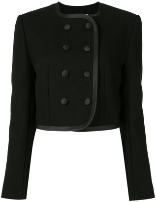 George Keburia Fitted Double-Breasted Jacket