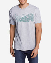 Eddie Bauer Men's Graphic T-Shirt - Sketched Yosemite