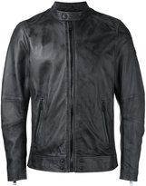 Diesel zipped jacket - men - Sheep Skin/Shearling/Polyester - M