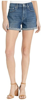 Lucky Brand Mid-Rise Relaxed Shorts in Hot Springs (Hot Springs) Women's Shorts