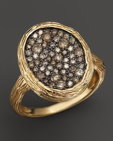 Bloomingdale's Brown Diamond Ring in 14K Yellow Gold