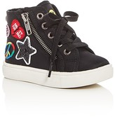 Steve Madden Girls' Emoji Part 2 High Top Sneakers - Toddler