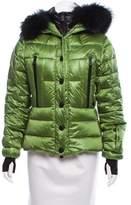 Moncler Fur-Trimmed Bever Jacket