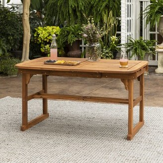 """Birch Laneâ""""¢ Heritage Tim Extendable Wooden Dining Table Birch Lanea Heritage Color: Brown"""