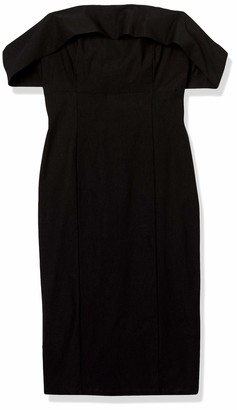 Forever 21 Women's Plus Size Off-The-Shoulder Bodycon Dress