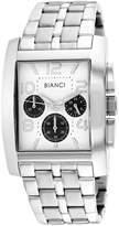 Roberto Bianci Mens Silver Tone Bracelet Watch-Rb54452