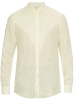 Massimo Alba Long-sleeved Linen Shirt