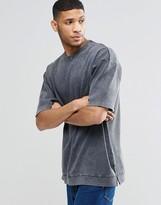 Asos Oversized Heavy Rib Sweatshirt