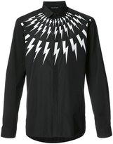 Neil Barrett lightning shirt