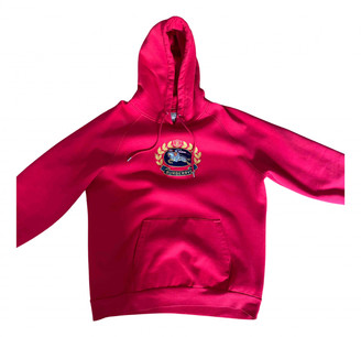 Burberry Red Cotton Knitwear & Sweatshirts