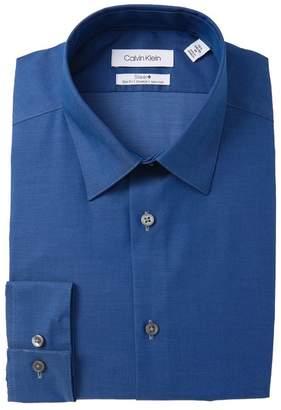 Calvin Klein Slim Fit Solid Dress Shirt