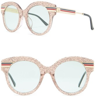 Gucci 52mm Glitter Sunglasses