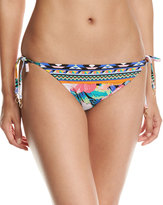LaBlanca La Blanca Tropicali Side-Tie Swim Bottom, Multi Pattern