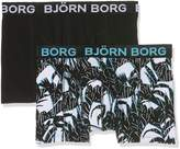 Bjorn Borg 2 Pack Short Boxer Shorts - Tropical
