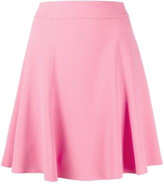 Dolce & Gabbana High-Waisted Pleated Mini Skirt