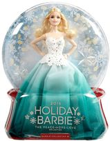 Barbie 2016 Holiday Doll - Aqua