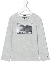 Tommy Hilfiger Junior - graphic print sweatshirt - kids - Cotton - 2 yrs