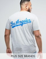 Majestic PLUS L.A. Dodgers Longline T-Shirt