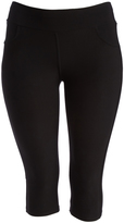 Black Capri Jeggings - Plus